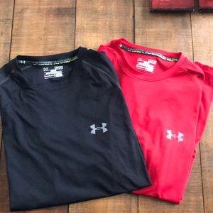 Under armour shirts Men's size M